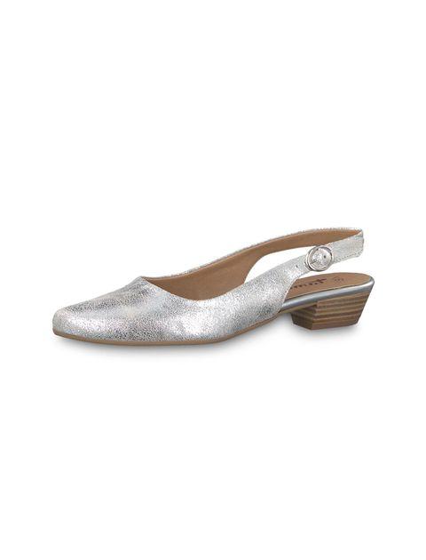 کفش پاشنه دار زنانه Trina - تاماریس - نقره اي - 4