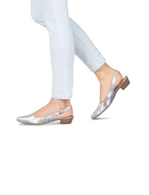 کفش پاشنه دار زنانه Trina - تاماریس - نقره اي - 6