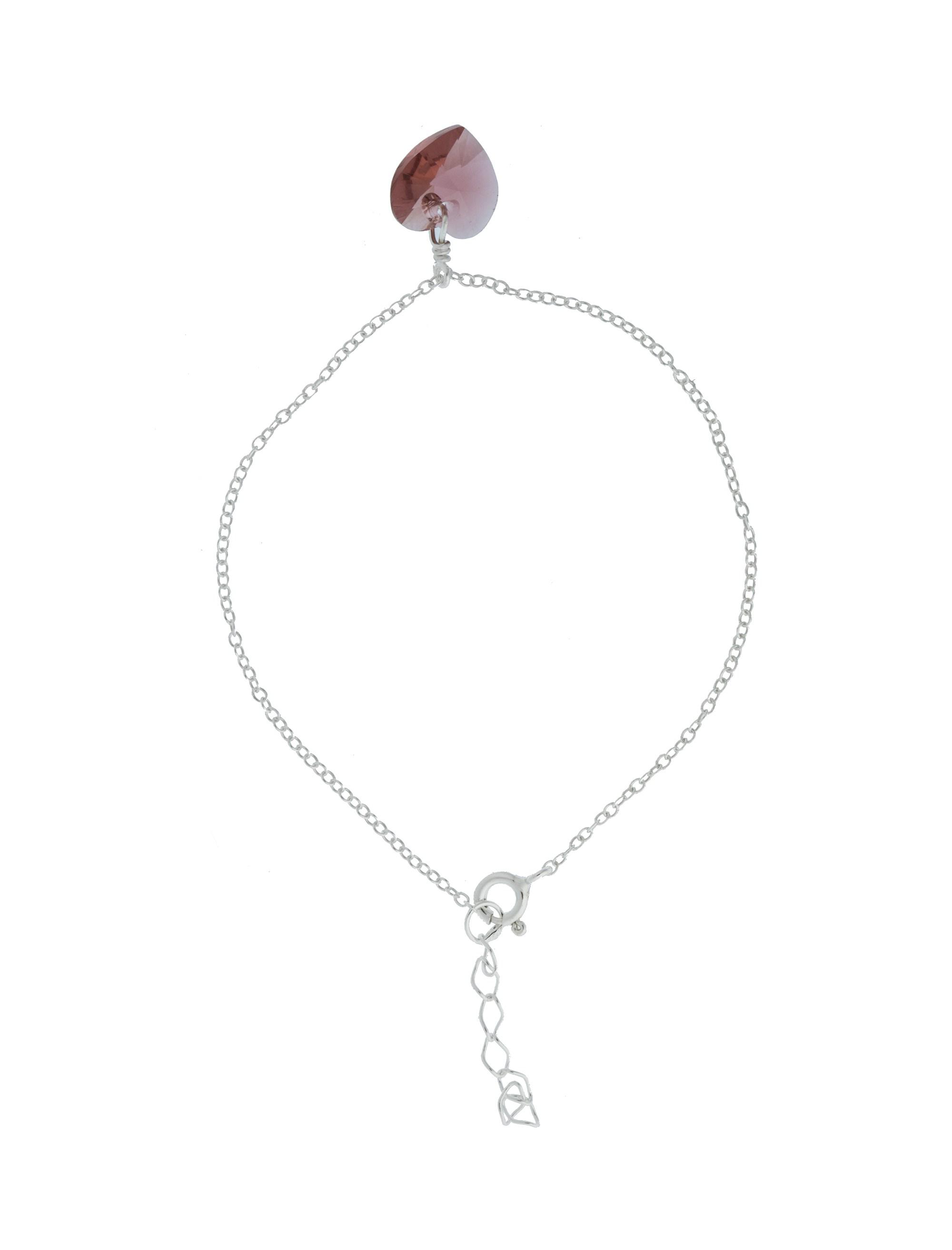 دستبند استیل قفل دار زنانه - اکسسوریز