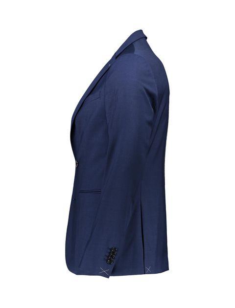 کت تک رسمی مردانه - مانگو - آبي - 4