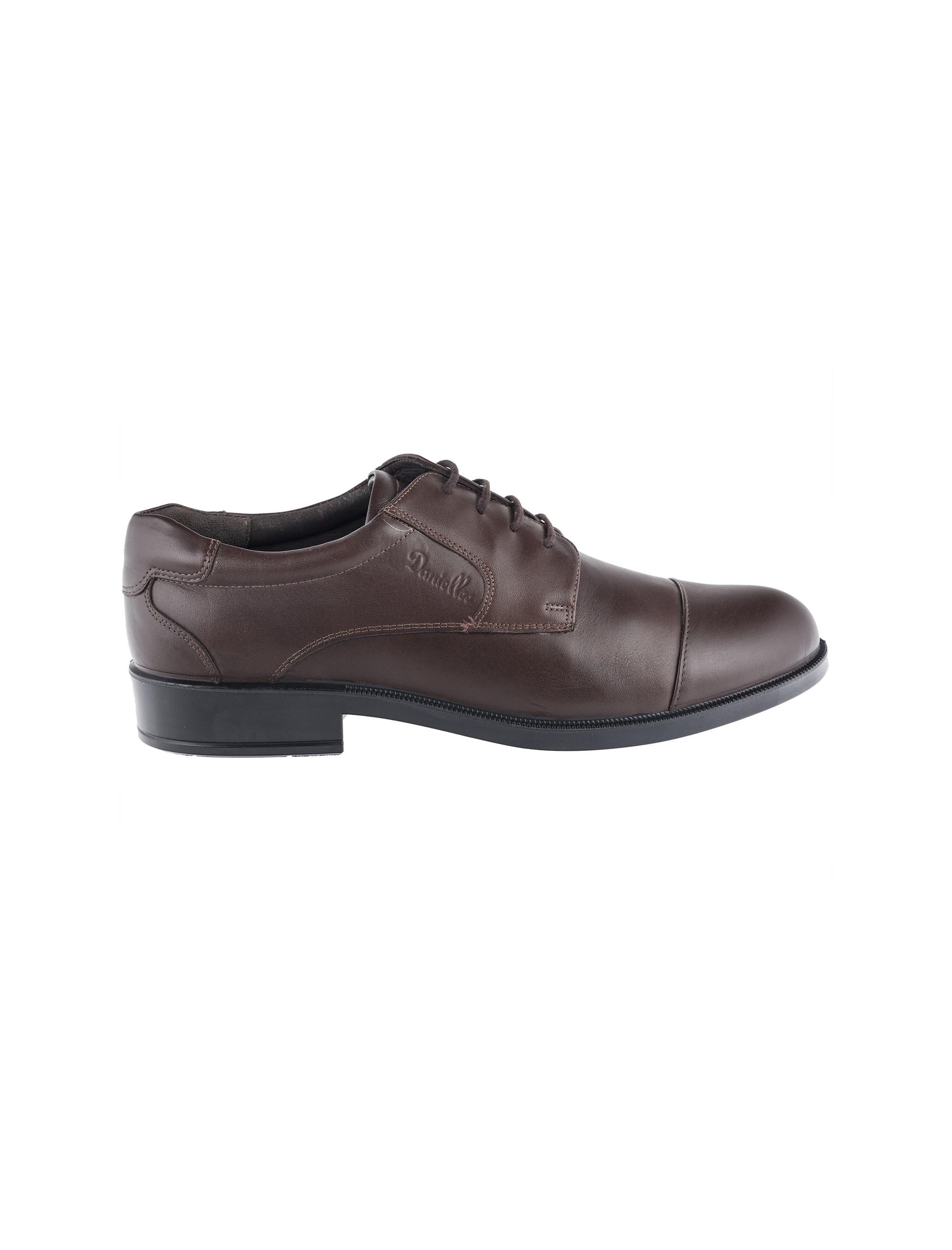 کفش اداری چرم مردانه - دنیلی