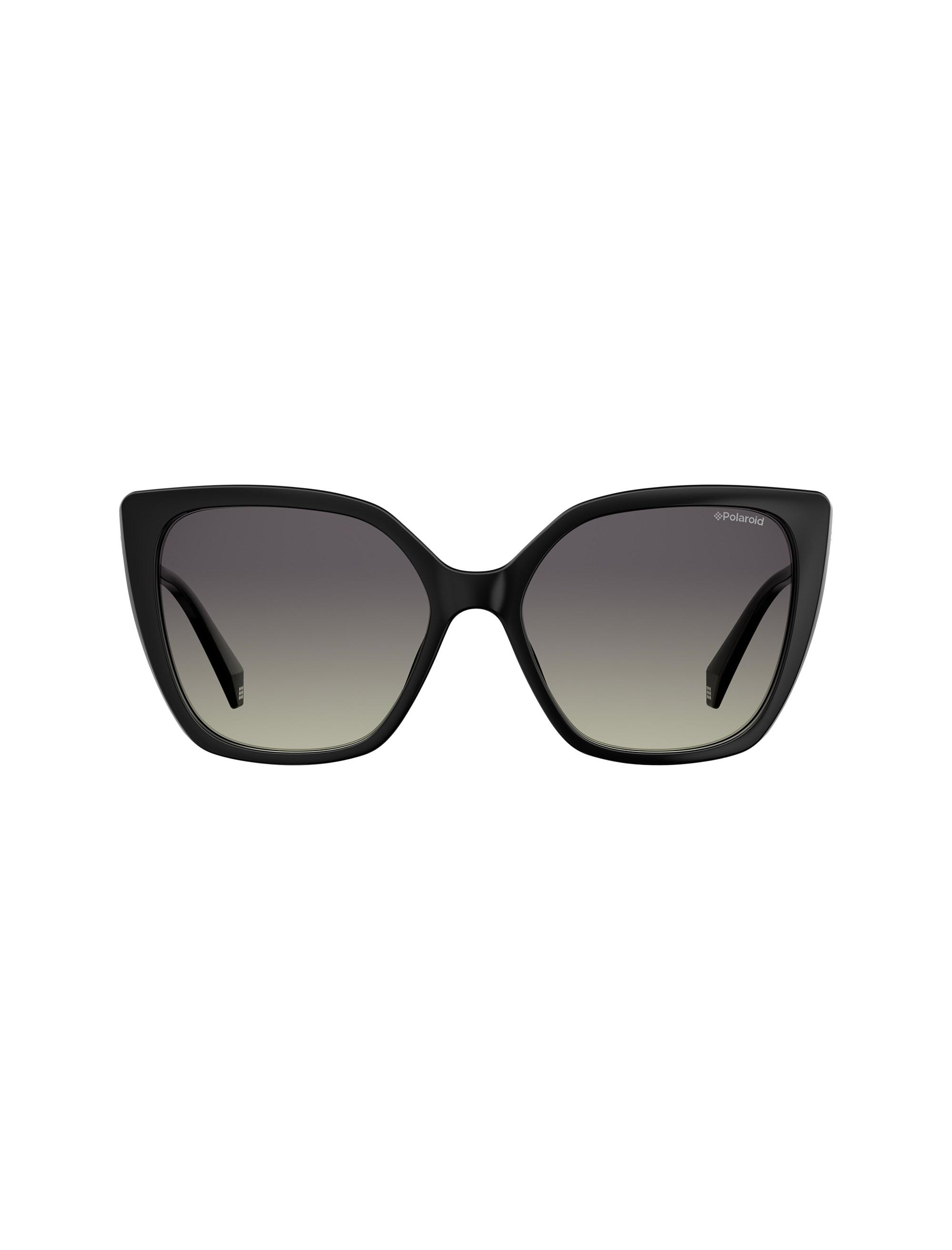 عینک آفتابی گربه ای زنانه - مشکي - 1