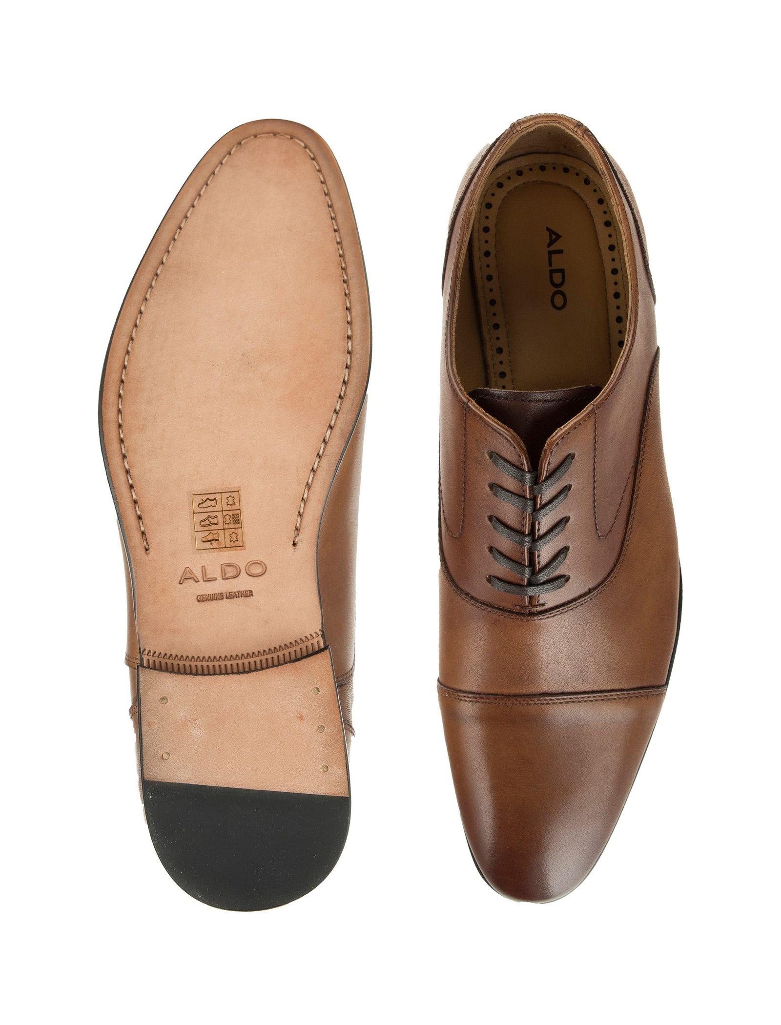 کفش رسمی چرم مردانه - آلدو - قهوه اي روشن - 2