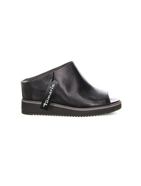 کفش چرم لژدار زنانه ALIS - مشکي - 1
