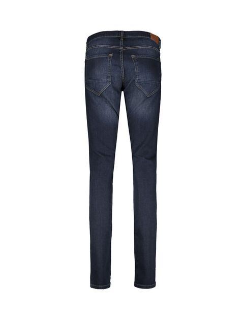شلوار جین راسته مردانه - سرمه اي - 2