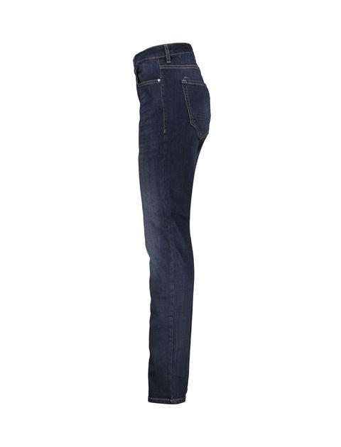 شلوار جین راسته مردانه - سرمه اي - 3
