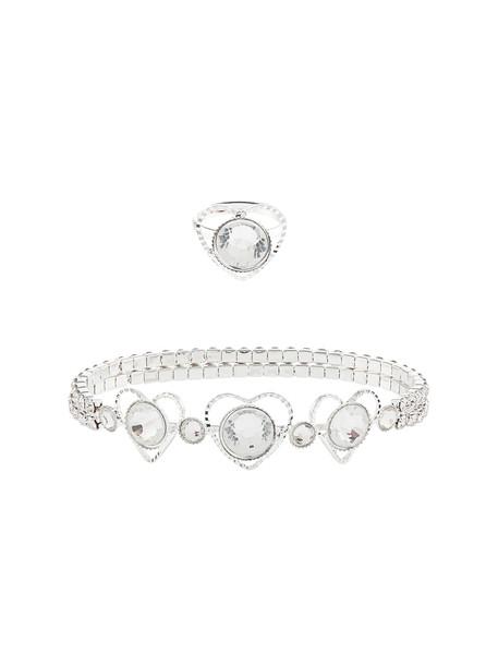 ست دستبند و انگشتر دخترانه - مانسون چیلدرن سایز M