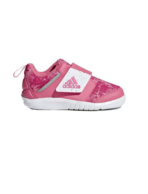 کفش تمرین چسبی دخترانه FortaPlay - صورتي - 1