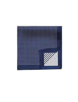 دستمال  ابریشمی جیب طرح دار مردانه
