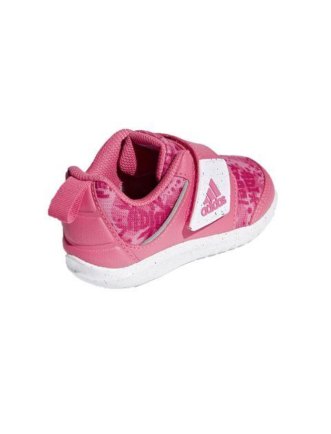 کفش تمرین چسبی دخترانه FortaPlay - صورتي - 4