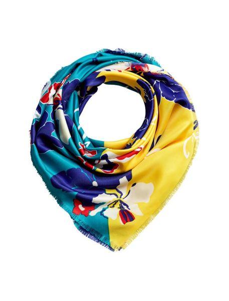 روسری طرح دار زنانه - مانگو تک سایز