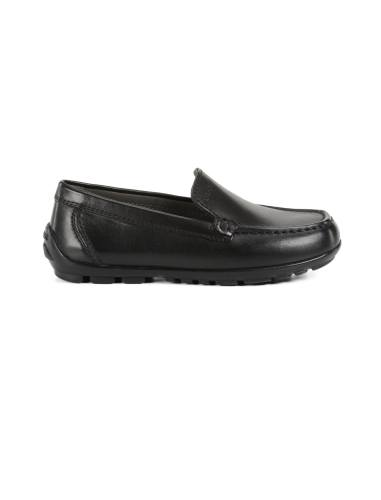 کفش  چرم راحتی پسرانه JR NEW FAST - جی اوکس