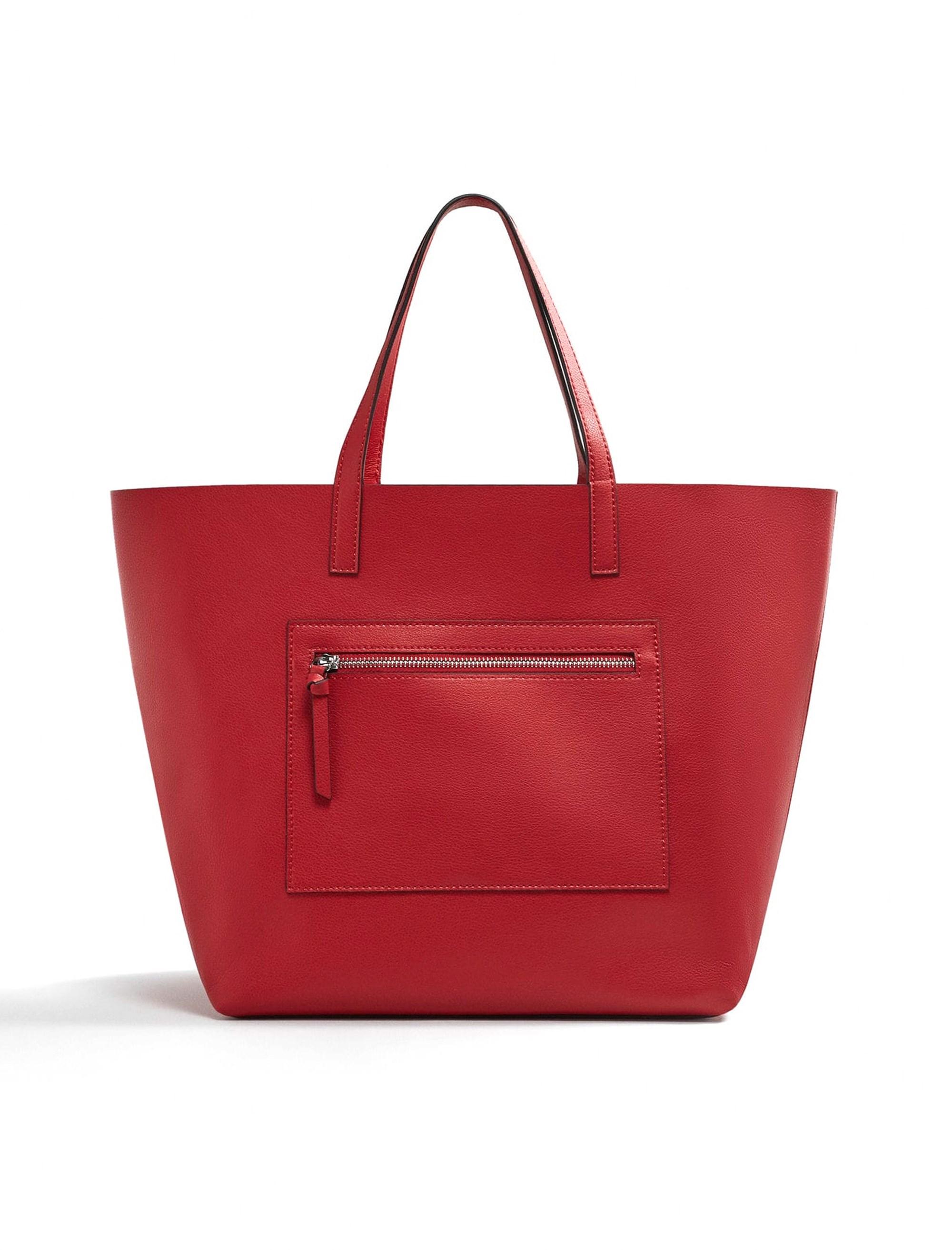 کیف دوشی روزمره زنانه - قرمز - 1