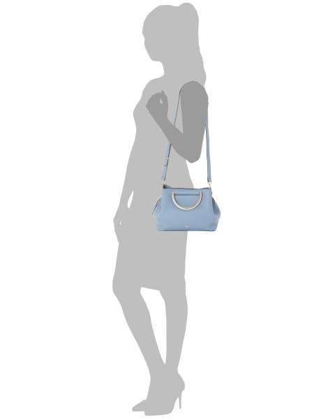 کیف روزمره دستی زنانه - آبي - 5