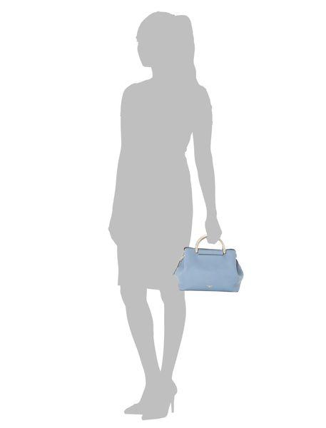 کیف روزمره دستی زنانه - آبي - 6