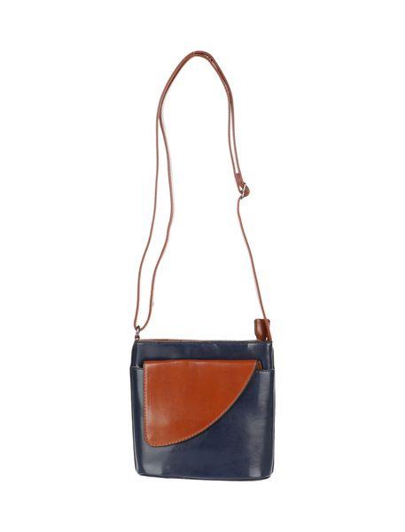 کیف دوشی زنانه - آبي - 1