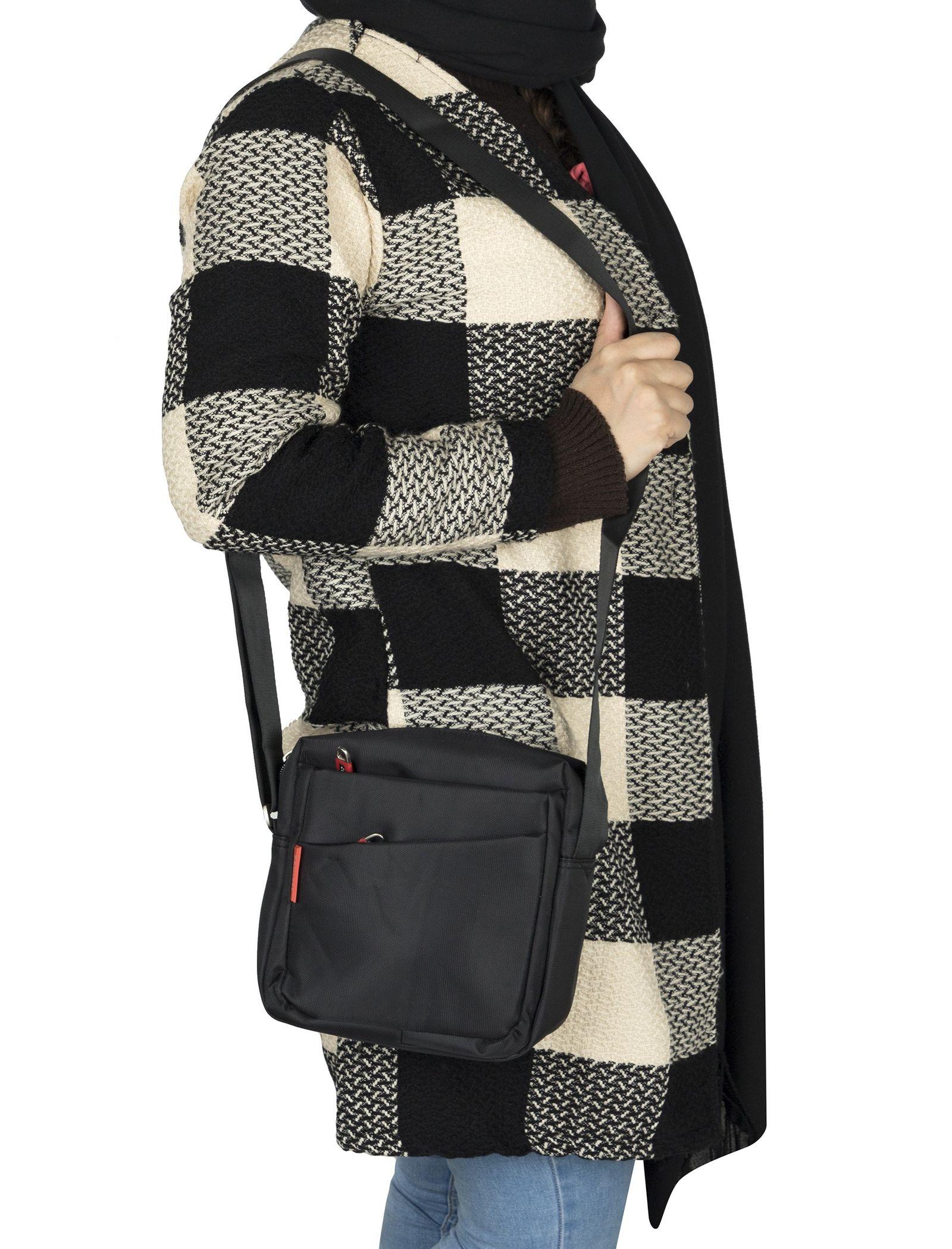 کیف دوشی روزمره بزرگسال - دادلین تک سایز - مشکي - 2