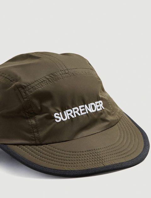 کلاه کپ مردانه - مانگو - يشمي - 2