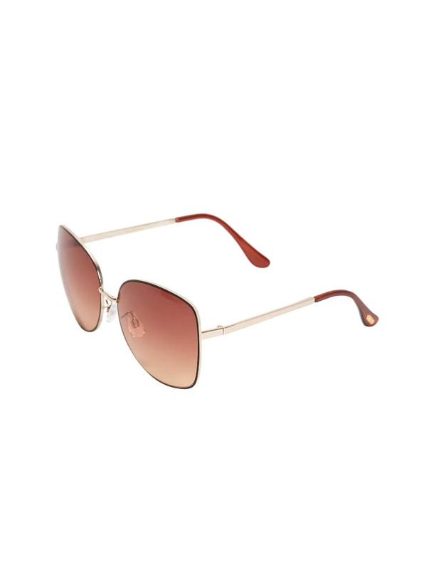 عینک آفتابی خلبانی فلزی زنانه - مانگو