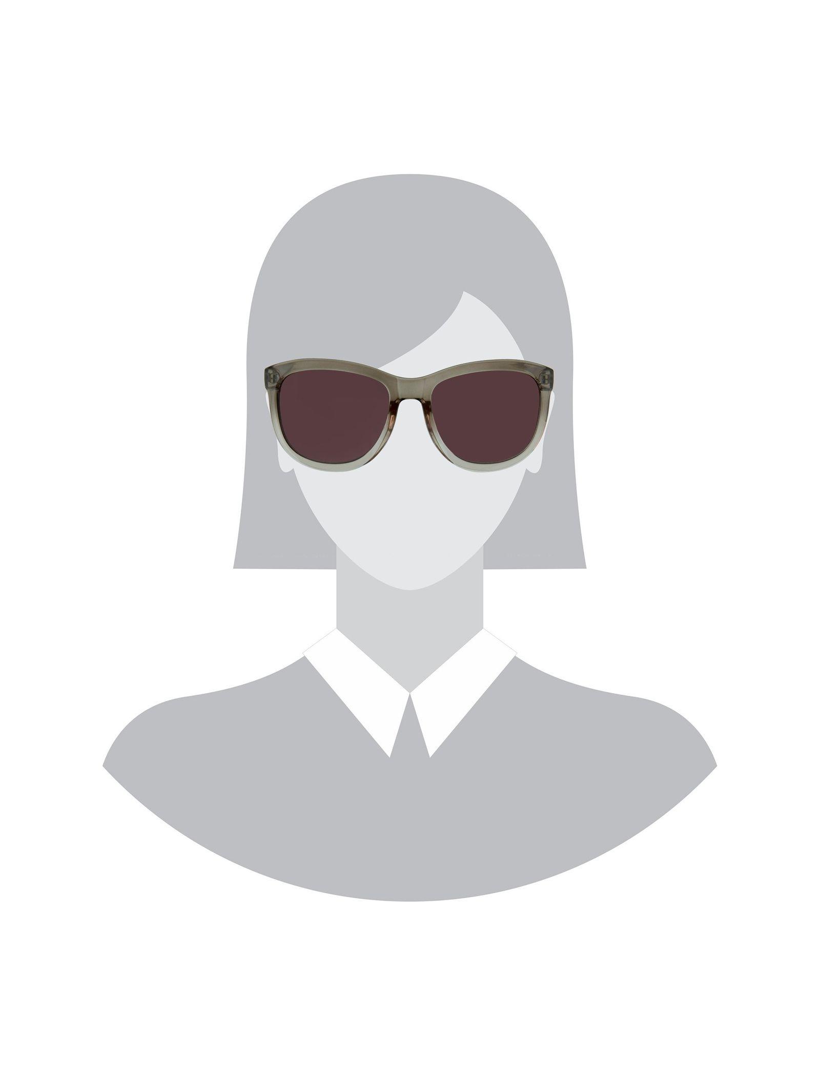 عینک آفتابی ویفرر زنانه - پی سز - قهوه اي  - 5