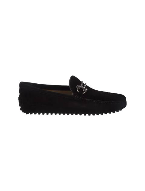 کفش چرم راحتی مردانه - مشکي - 1