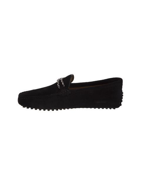 کفش چرم راحتی مردانه - مشکي - 2