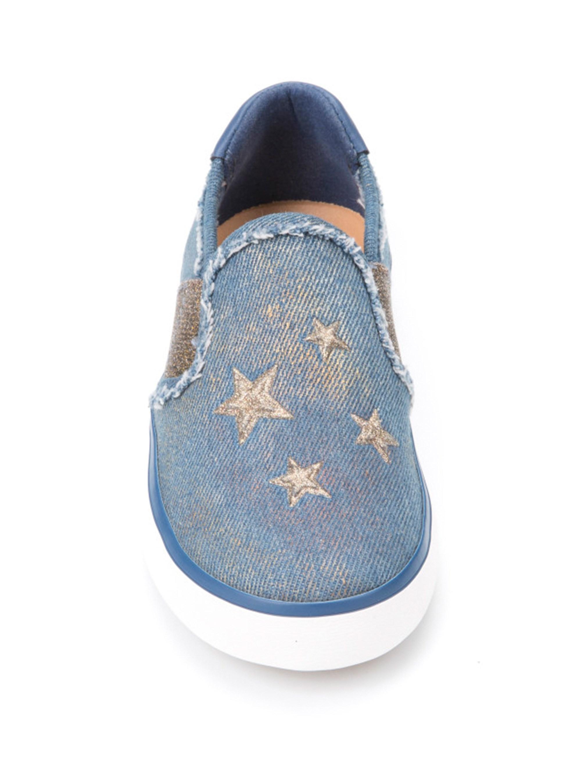 کفش تخت پارچه ای دخترانه JR KILWI - جی اوکس