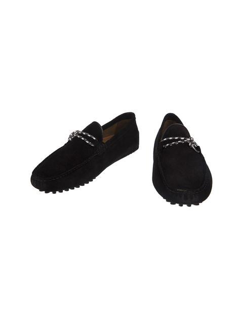 کفش چرم راحتی مردانه - مشکي - 4