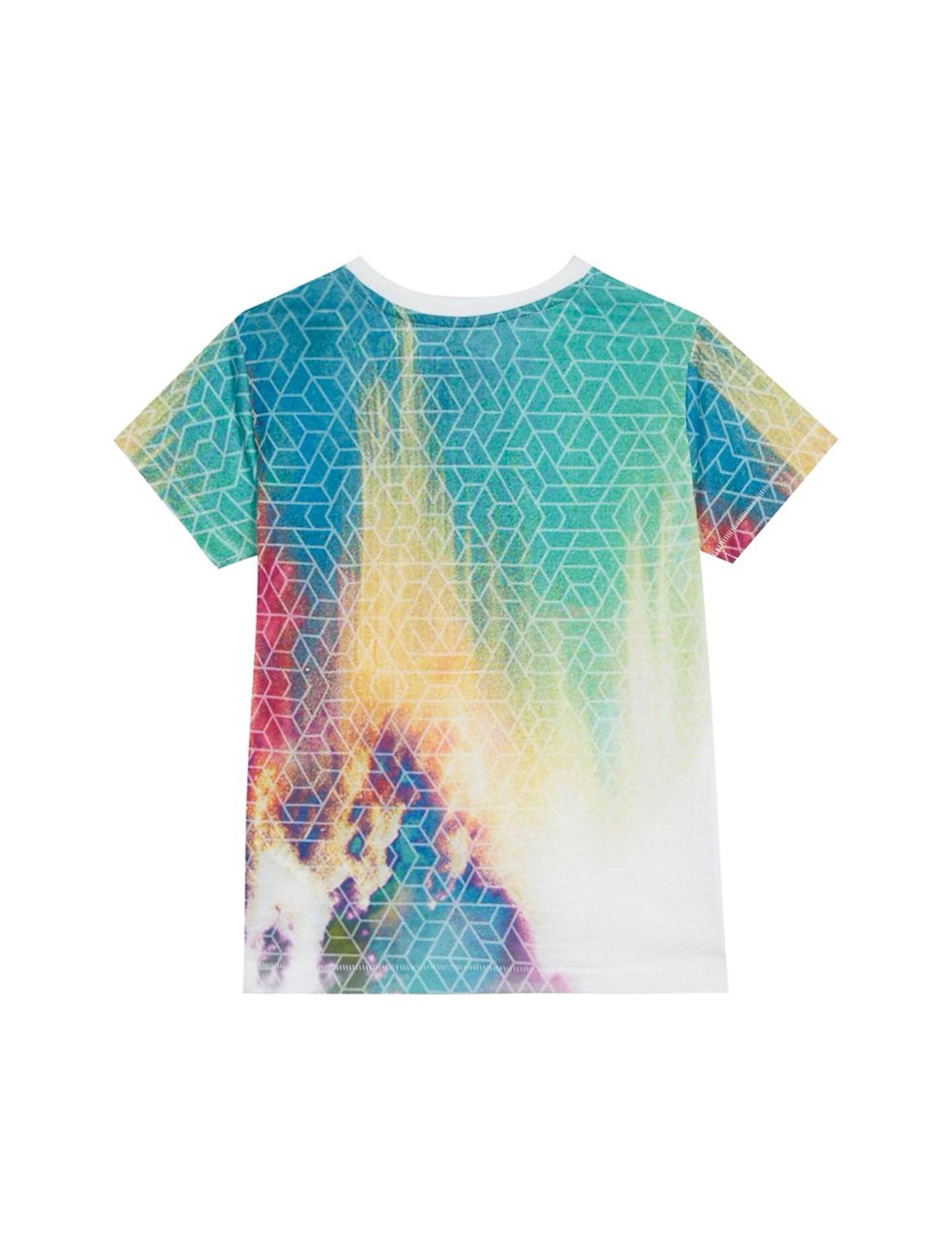 تی شرت آستین کوتاه پسرانه - چند رنگ - 2