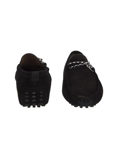کفش چرم راحتی مردانه - مشکي - 5