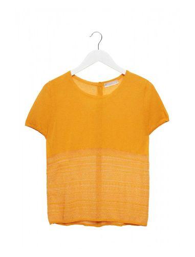 تی شرت ویسکوز یقه گرد زنانه - استفانل