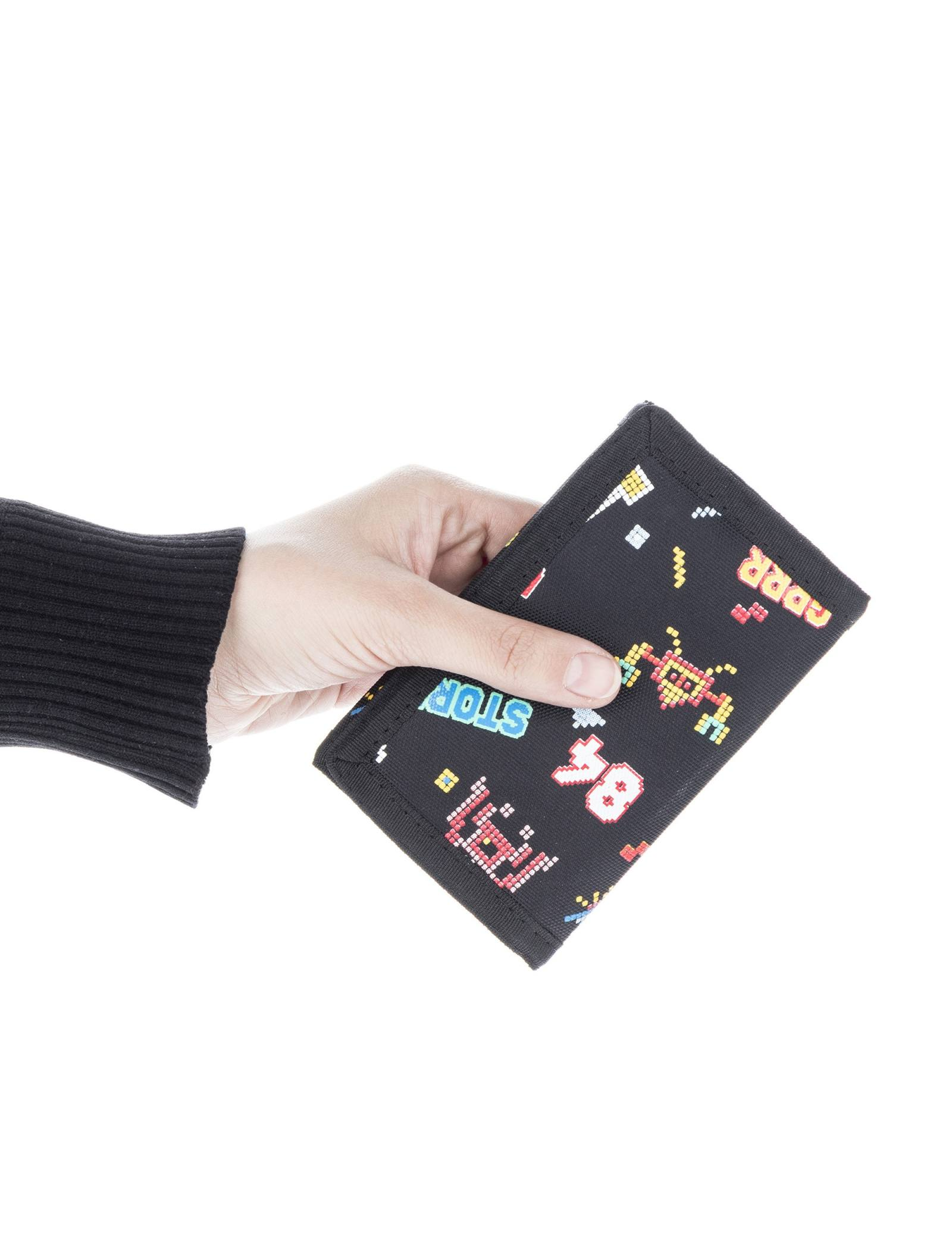 کیف پول چسبی پسرانه - دفکتو - مشکي - 5