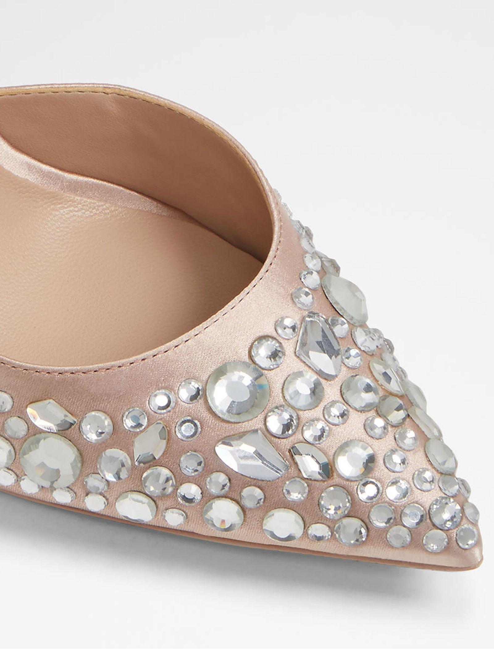 کفش پاشنه بلند پارچه ای زنانه - آلدو - صورتي روشن - 6