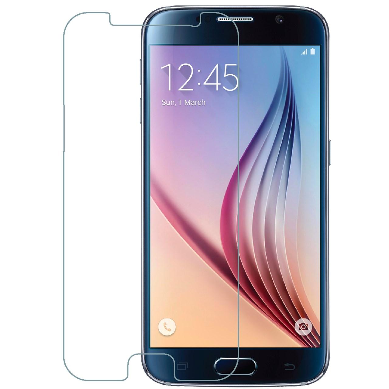 محافظ صفحه نمایش شیشه ای تمپرد هوکار  مناسب Samsung Galaxy S6