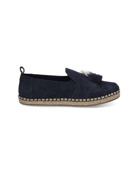 کفش جیر تخت زنانه DECONSTRUCTED ALPARGATAS - تامز