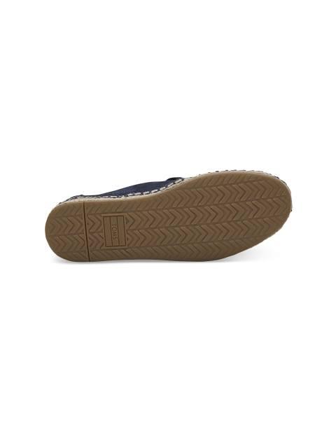 کفش جیر تخت زنانه DECONSTRUCTED ALPARGATAS - سرمه اي - 2