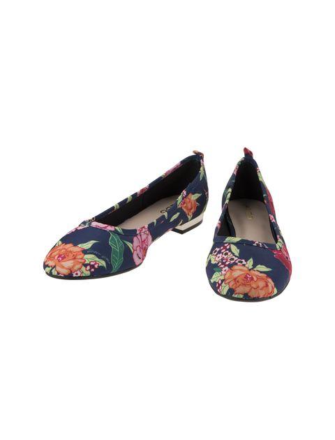 کفش تخت عروسکی زنانه - آلدو - سرمه اي - 4