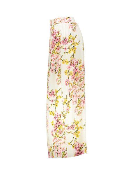 دامن بلند زنانه - سفيد - 3