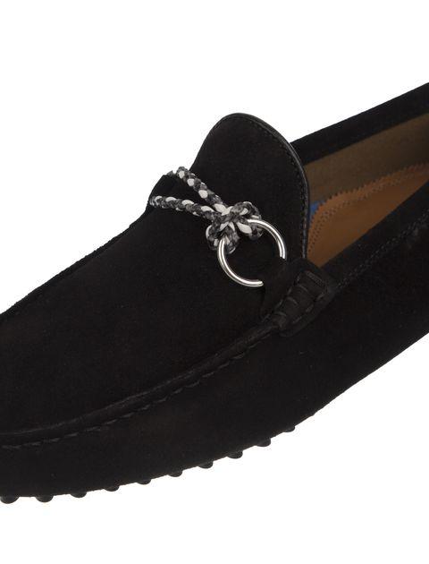 کفش چرم راحتی مردانه - مشکي - 6
