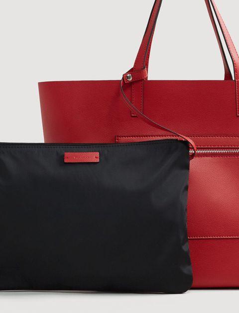 کیف دوشی روزمره زنانه - قرمز - 3
