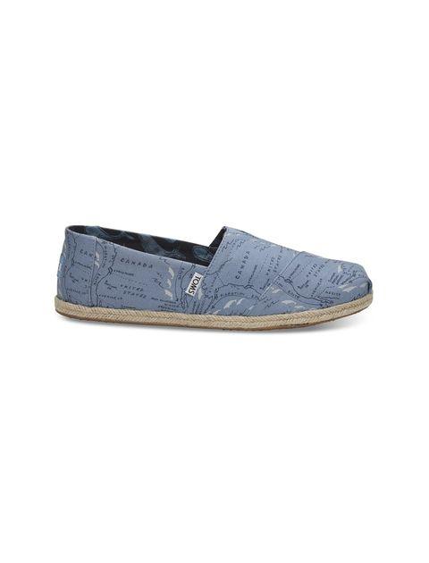 کفش راحتی پارچه ای مردانه - آبي - 1
