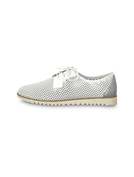 کفش تخت چرم زنانه Eulalia - سفيد - 3