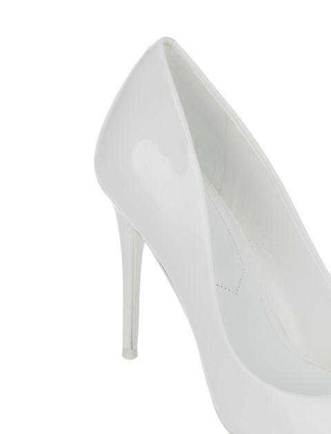 کفش پاشنه بلند زنانه - سفيد  - 6