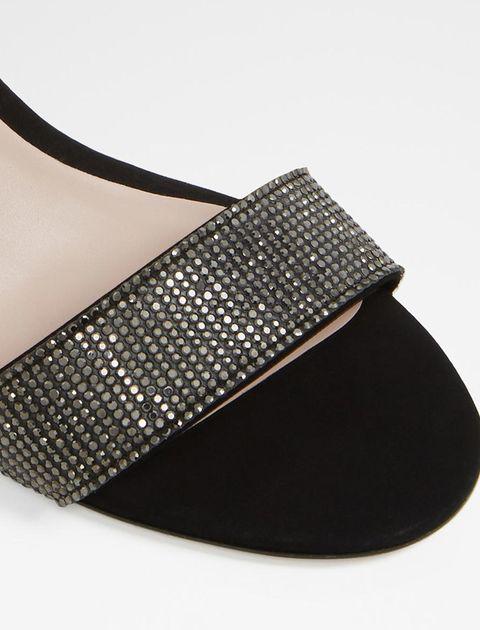 کفش پاشنه بلند زنانه - مشکي - 7