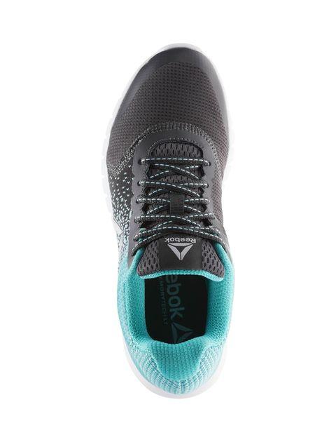 کفش مخصوص دویدن زنانه ریباک مدل Instalite Run - زغالي و فيروزه اي - 5