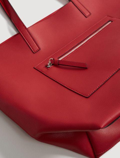 کیف دوشی روزمره زنانه - قرمز - 4
