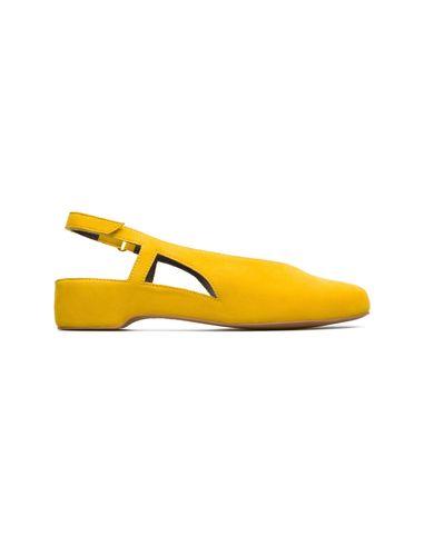کفش نبوک تخت زنانه Lucy - کمپر