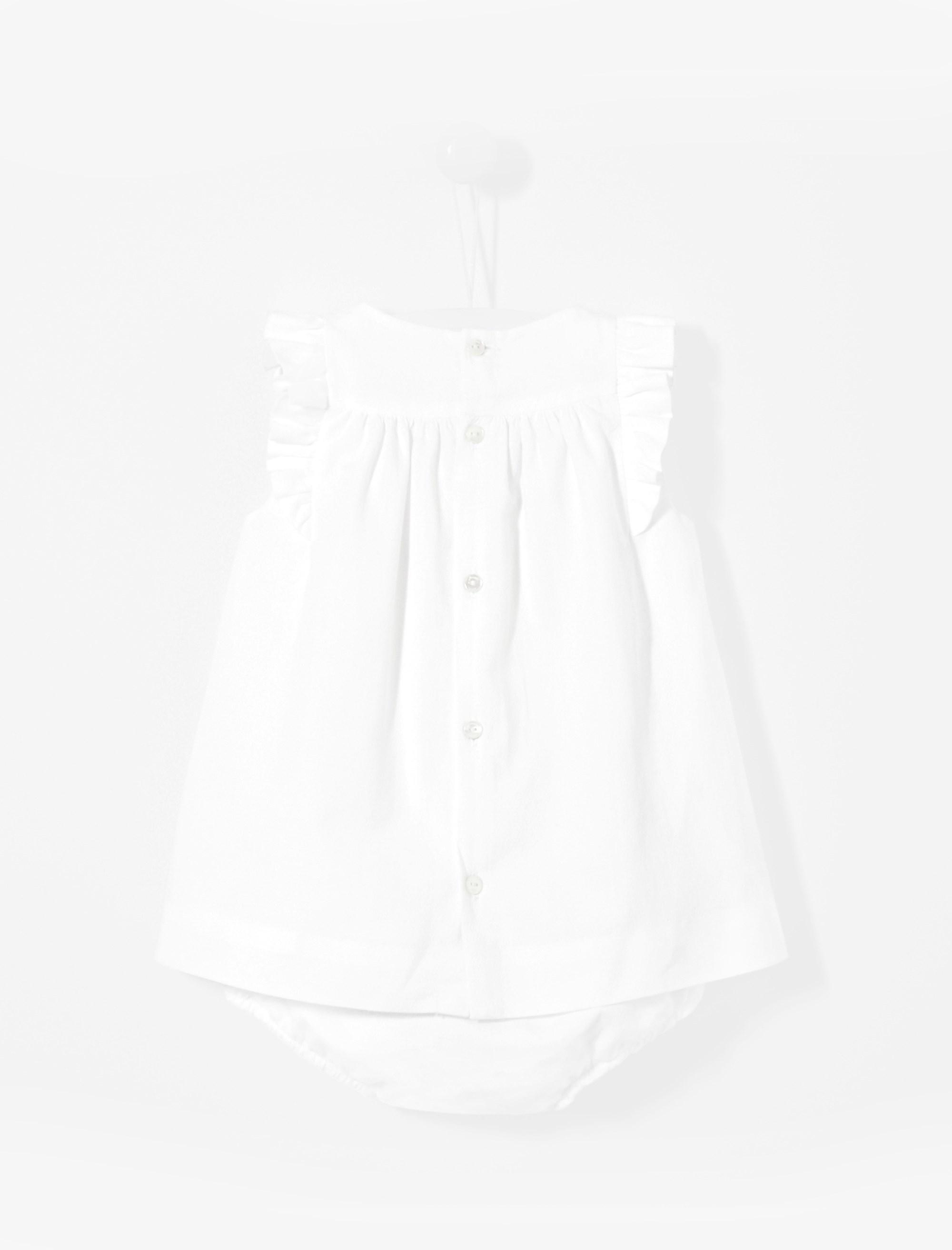 پیراهن نخی روزمره دخترانه Lodele - جاکادی