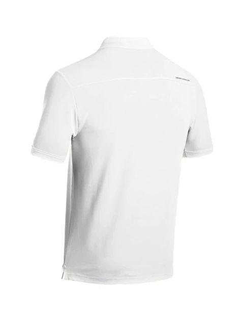 پولوشرت ورزشی آستین کوتاه مردانه - سفيد - 2