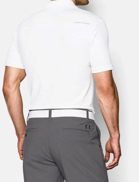 پولوشرت ورزشی آستین کوتاه مردانه - سفيد - 4